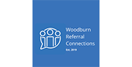 Woodburn referral connections logo